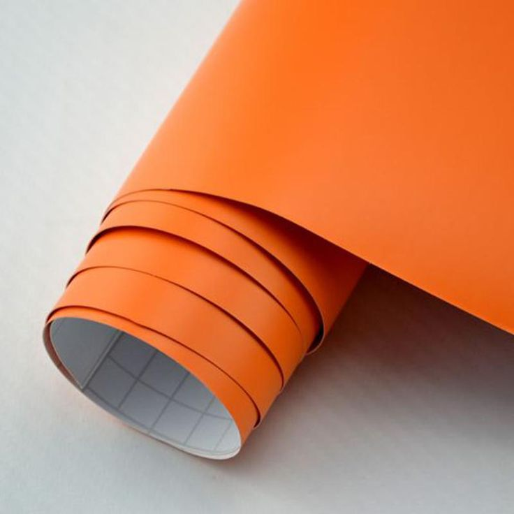 1.52x2m 5x7ft PVC 3m Car Wrapping Vinyl Matte Satin Vinyl Film Orange Air Bubble Free for Car Wrapping Online with $58.64/Meter on Sallyyang0301's Store | DHgate.com
