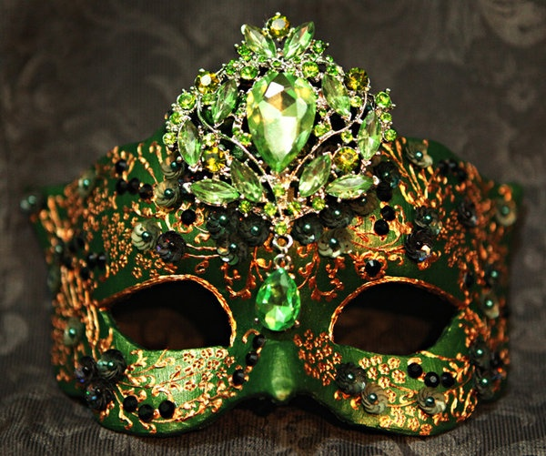 Midnight Masquerade: Mask Art by Katrina Pallon