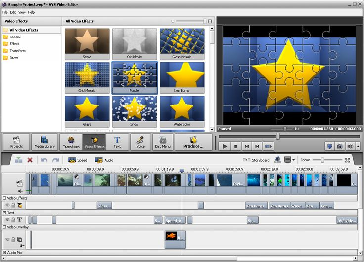 AVS Video Editor is easy-to-use audio & video editing and DVD authoring software. Edit video and author DVDs in a simple way like a PRO. All formats video editor!