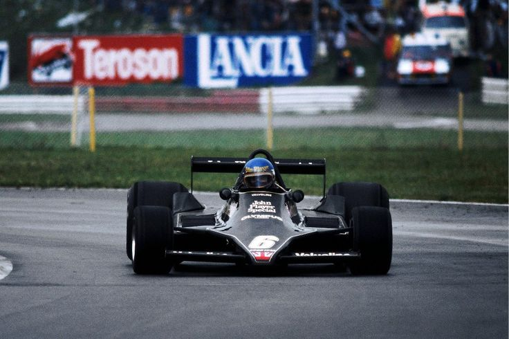 1978, XVI Grosser Preis von Osterreich, Österreichring  Ronnie Peterson slides his Lotus 79 to get his last GP victory.  At this race he also got his last pole and fast lap too.