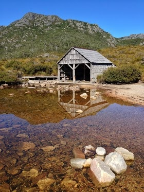 Dove Lake & Boatshed at Cradle Mountain, Tasmania.    #seeaustralia @Australia