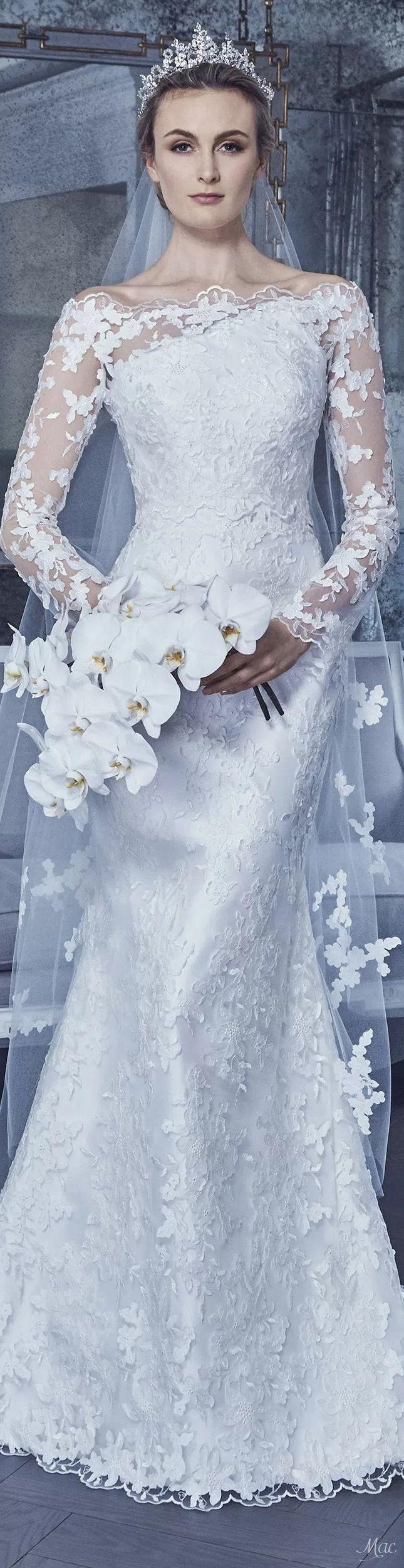 Romona keveza lace wedding dress october 2018  best Inspired Wedding Style images on Pinterest  Wedding