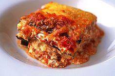 Zucchini - Lasagne Low Carb Rezept ohne Teig