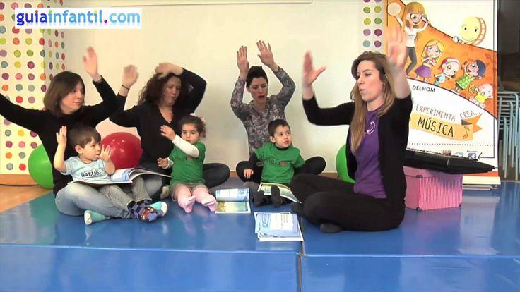 Juego para desarrollar el ritmo y entonación en niños desde 2 años