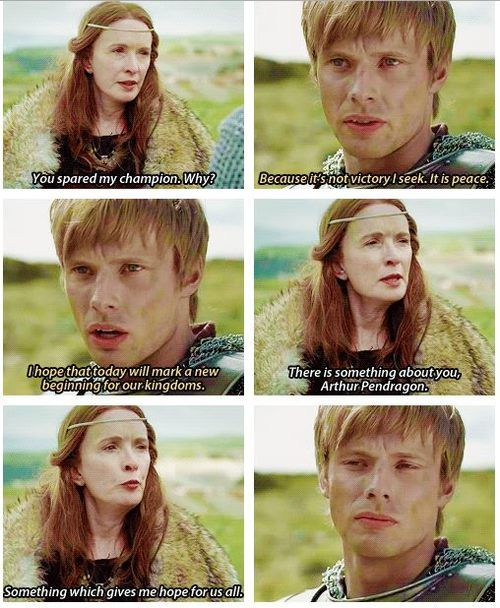 There is something about you, Arthur Pendragon...  (This is one of my favorite episodes.