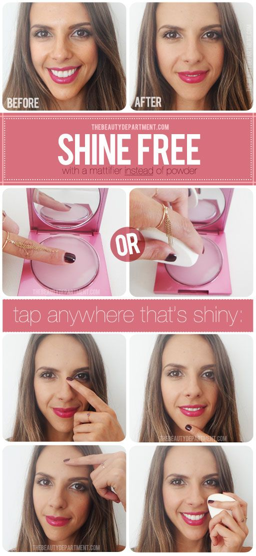 The Beauty Department: Your Daily Dose of Pretty. - DON'T CAKE UP YOUR MAKEUP!