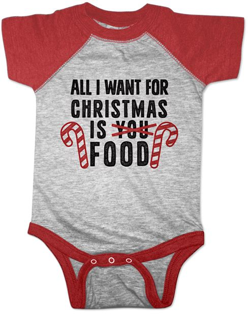 Red Heather 'All I Want For Christmas' Raglan Body… #ad