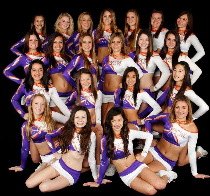 cheer team photo ideas