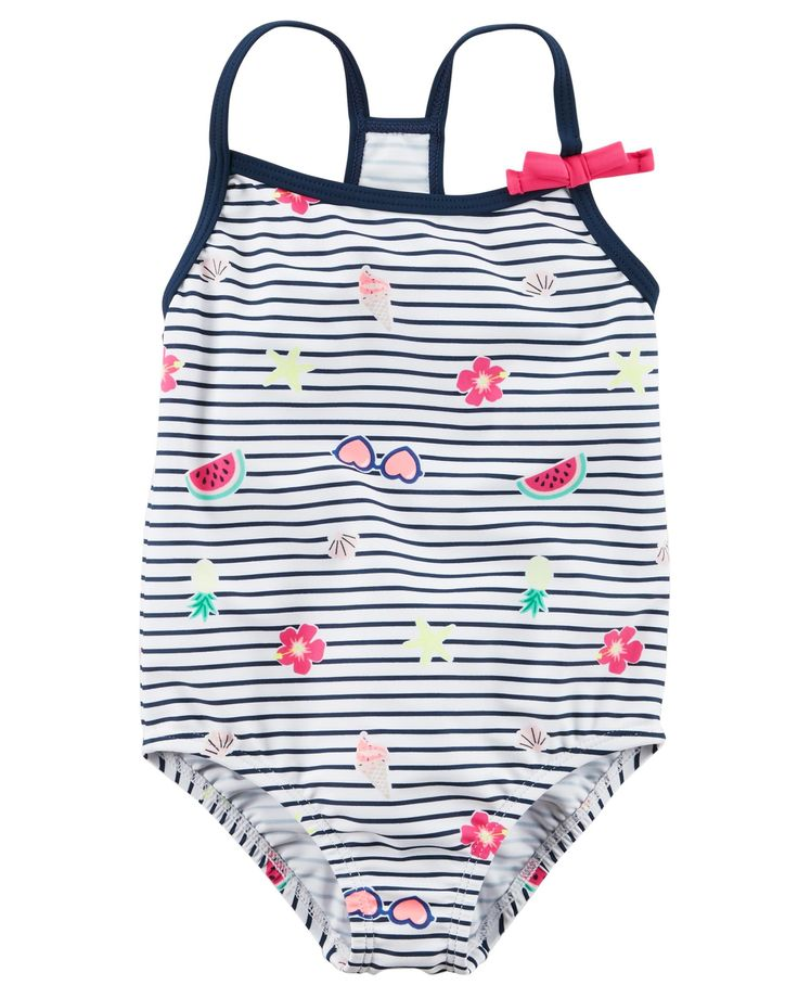 Baby Girl Carter's Bow Swimsuit | Carters.com