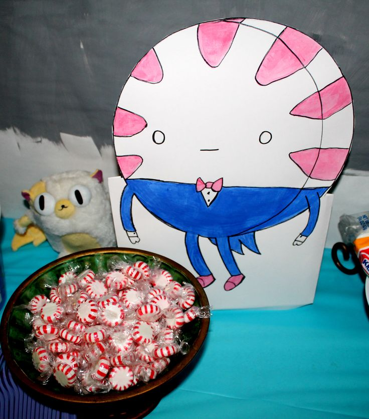 Adventure Time Birthday Peppermint Butler