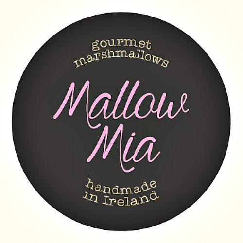 Brand design for Mallow Mia® Gourmet Marshmallows, handmade in Ireland with the finest ingredients.