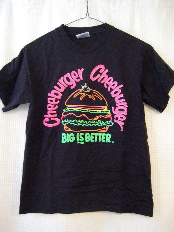 Vintage Cheeburger Cheeburger Youth Shirt by SBVintageAndDesign