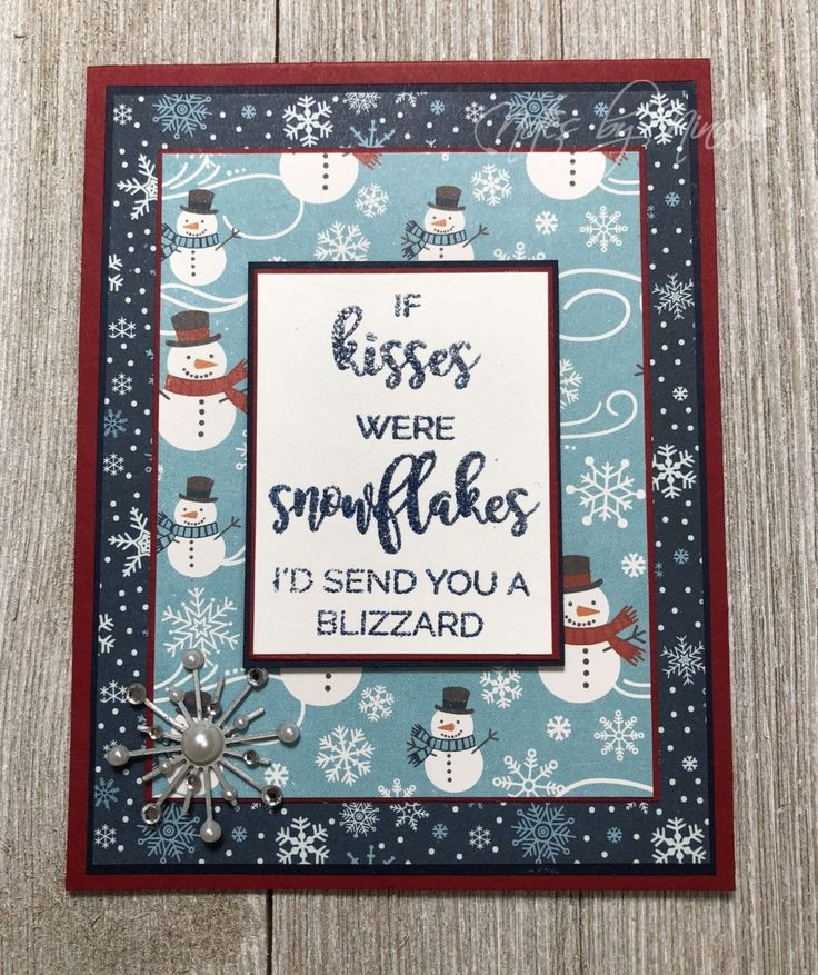 Merry Monday Christmas Card Challenge #269