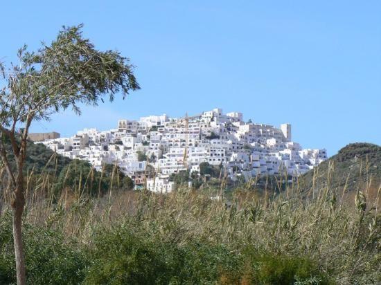 De stadskern van Mojacar