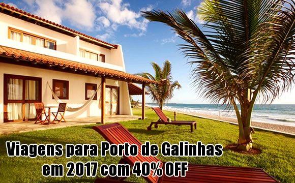 Porto de Galinhas no Carnaval e Semana Santa 2017 #carnaval #semanasanta #feriados #2017 #pacotes #viagens