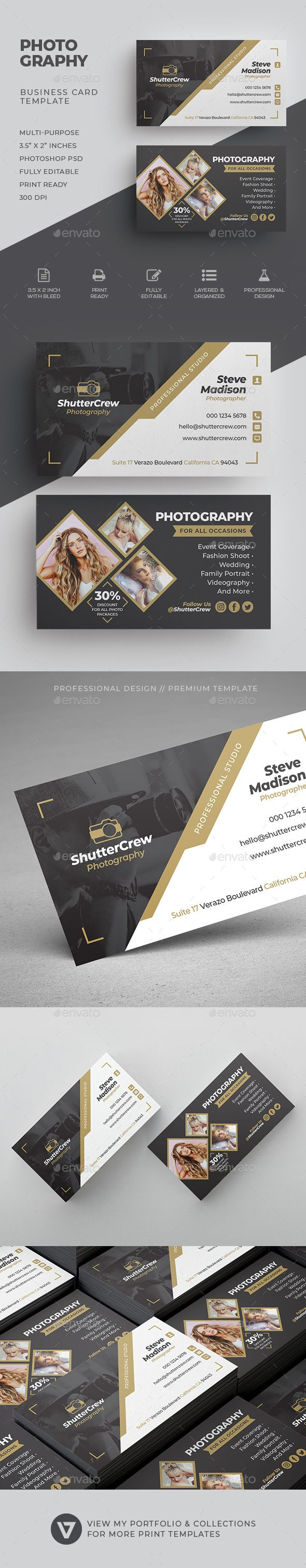 Photography Business Card Photography Business Cards Template Photography Business Cards Photographer Business Card Template