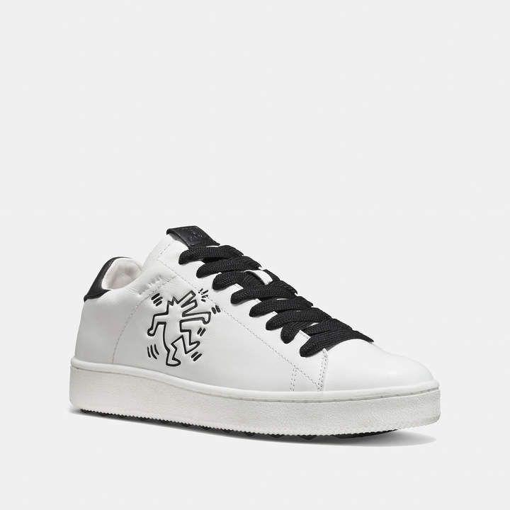 15d6fb7ab14b0 COACH Coach X Keith Haring C101 Low Top Sneaker