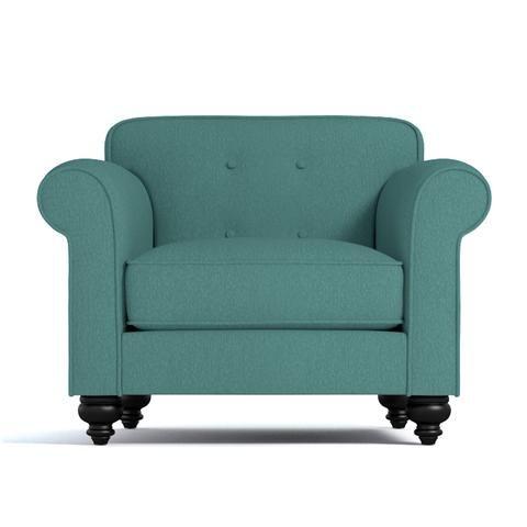 Pico Tufted Back Chair CHOICE OF FABRICS   Apt2B   1