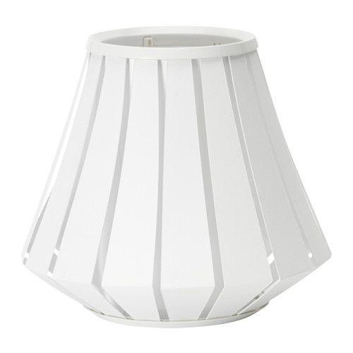 IKEA - LAKHEDEN, Lampenkap, 28 cm, , Stel je eigen persoonlijke hanglamp of tafellamp samen door de lampenkap te combineren met een ophanging of lampvoet naar keuze.Met een lampenkap van textiel kan je een gezellige sfeer in huis creëren en een gelijkmatig, decoratief licht.De lamp geeft een aangenaam licht tijdens het eten en verspreidt een goed, gericht licht over de eettafel of de bartafel.