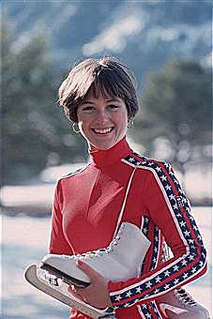 Dorothy Hamill's Famous Wedge Haircut Photo Gallery: 1976 Olympic Figure Skating Champion Dorothy Hamill