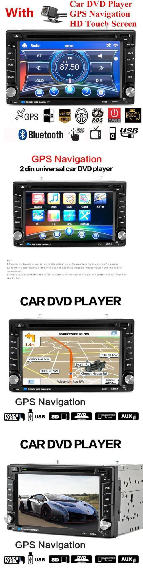 Video In-Dash Units w GPS: Hd 6.2 2 Din Gps Navigation Car Stereo Dvd Player Bluetooth With Backup Camera -> BUY IT NOW ONLY: $110.39 on eBay!
