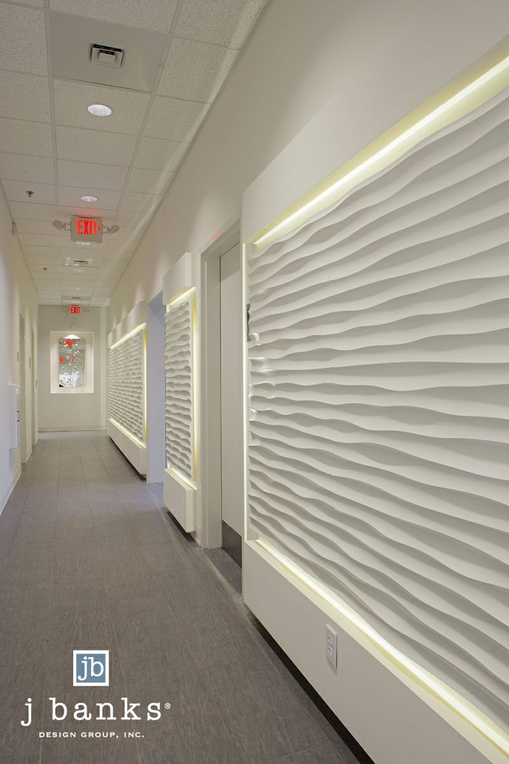 Textured Panels At Lux Medical Spa Spa Amp Fitness Centers