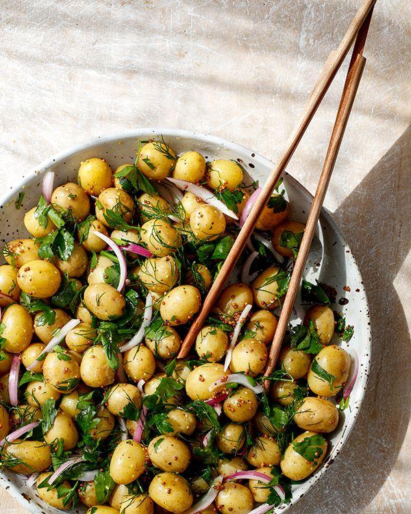 Herby Potato Salad Recipe Potato Salad Potatoes Potatoe Salad Recipe