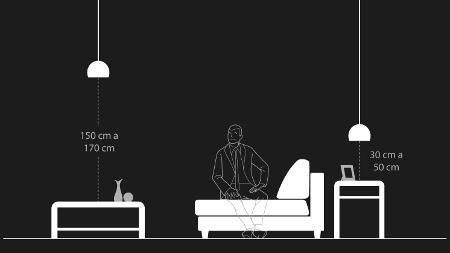 Descubra a altura ideal do pendente em diversos usos e cômodos da casa - 07/07/2016 - UOL Estilo de vida