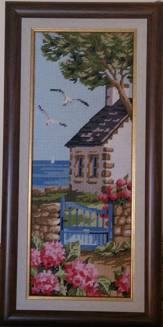 Seaside - Handmade Gobelin Tapestry