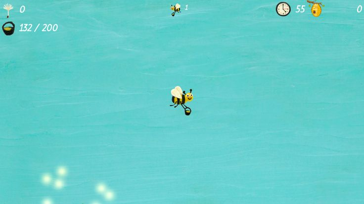 Clay Bee game screenshot