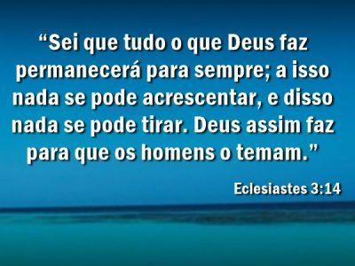 Eclesiastes 3-14