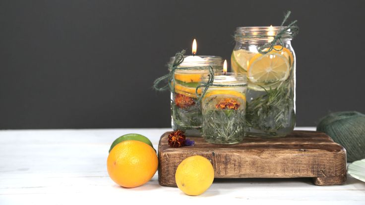 Summer Citronella Candles