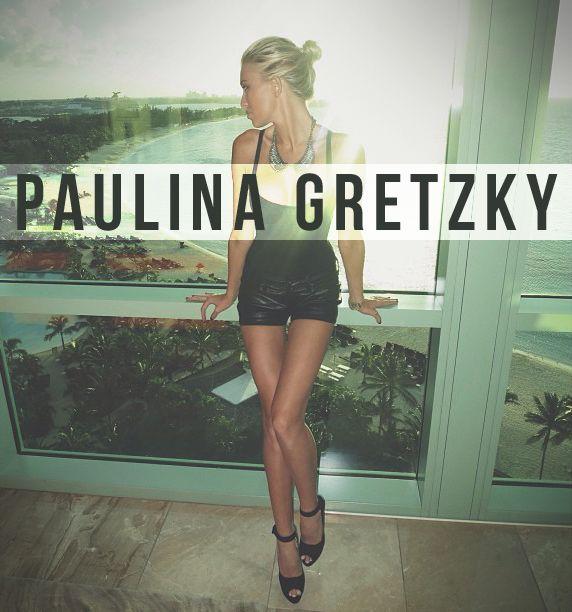Wayne Gretzky's smoking hot daughter Paulina Gretzky. #paulinagretzky #waynegretzky