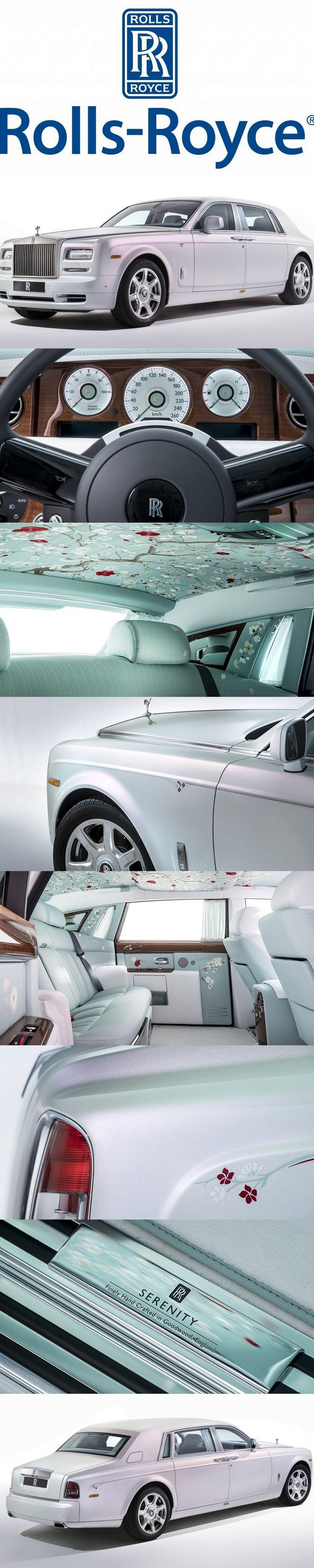 Rolls Royce Phantom Serenity a beautiful car. Dare I say it?.....pretty!