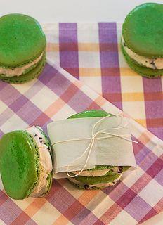 French Macaron Ice Cream Sandwiches