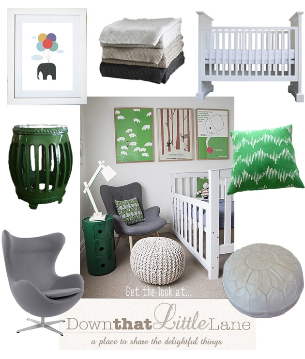 Get the Look : The Fresh Nursery | Down that Little Lane