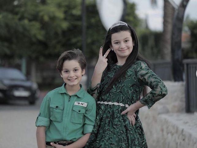 صورة من اغنيتنا الجديده الفرحة مليون تالا وامير Military Jacket Fashion Tala