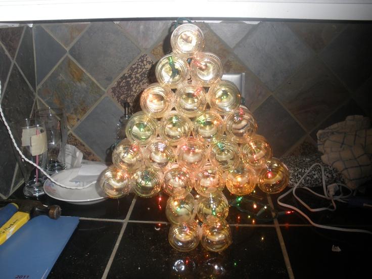 Baby Jar Christmas Tree