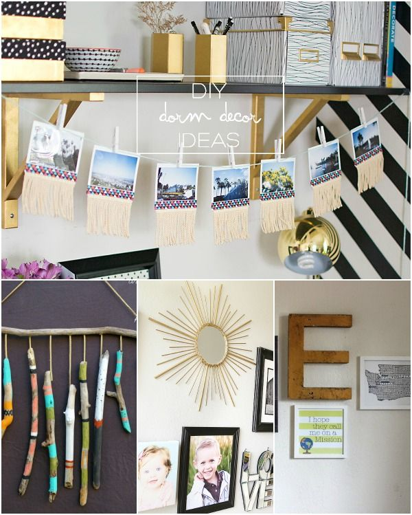 Creative Wall Decor For Dorms : Best w a l d e c o r dorm images on