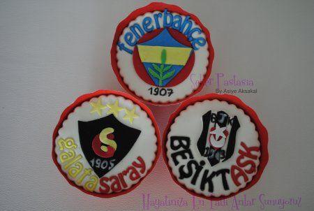 Fenerahçe Cupcake, Galatasaray Cupcake, Beşiktaş Cupcake