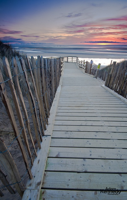 Formby Beach Walkway, England