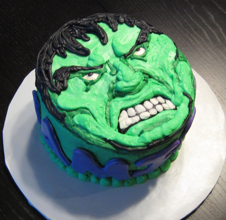 1000+ ideas about Incredible Hulk Cakes on Pinterest ...
