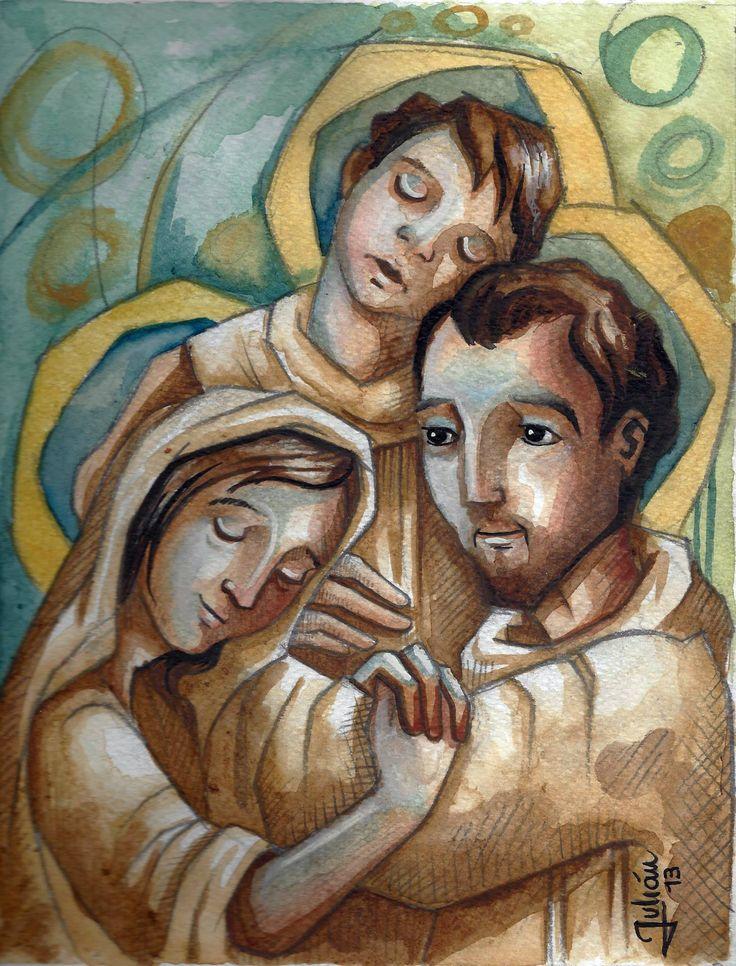 """MI FAMILIA COMO LA DE NAZARET. """" ¡proteged vuestras familias! Ved en ellas el mayor tesoro de vuestro país y sustentarlas siempre con la oración y la gracia de los sacramentos"""". (Papa Francisco) #mifamiliacomoladenazaret @mifamilia2015"""