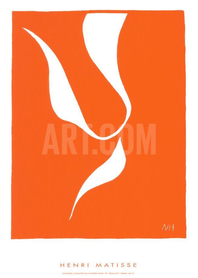 Les Patineurs Serigraph by Henri Matisse at Art.com