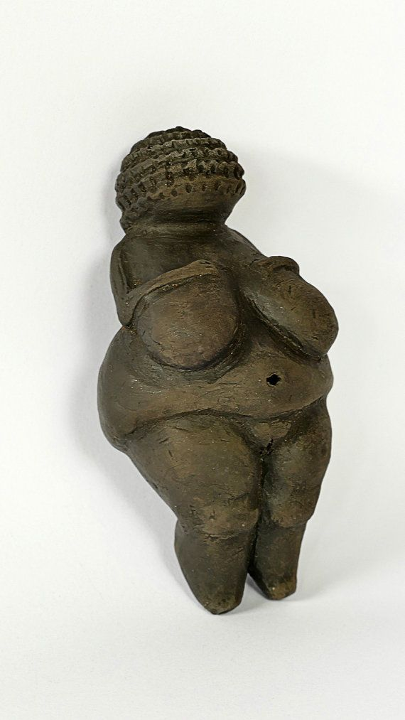 Venus of Willendorf  Figure Mother Earth Goddess by GlinkaDesign