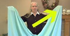 Jeg troede jeg vidste hvordan man folder lagner – indtil jeg så dette utroligt enkle husmorråd