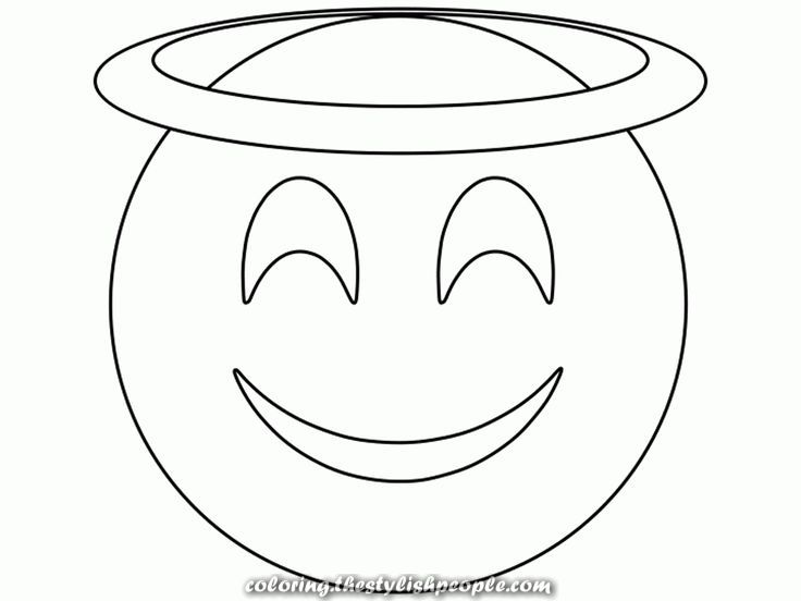 Unique And Creative Saint Emoji Coloring For Print Emoji Coloring Pages Super Coloring Pages Coloring Pages