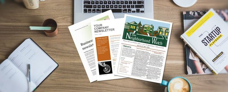 13 Free Newsletter Templates You Can Print or Email as PDF #Productivity #Newsletter #music #headphones #headphones