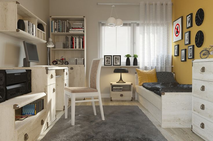 Indiana - Black Red White #youthroom #childsroom #inspiration #youth #child #ideas #decorations #bedroom