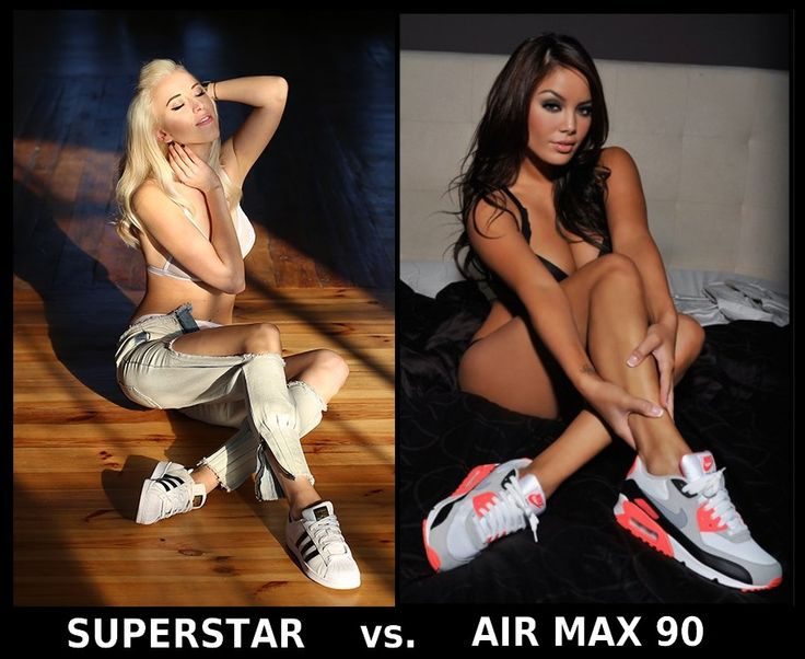 Adidas Superstar vs. Nike Air Max 90 #adidas #airmax #nike #adidassuperstar